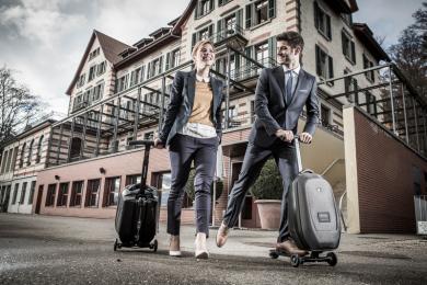 Тротинетка с куфар Samsonite Micro luggage
